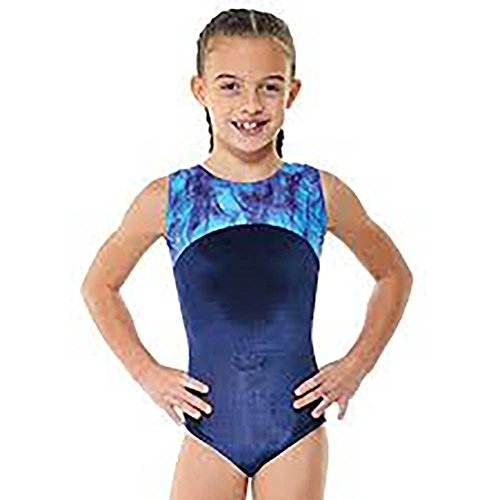 Tappers & Pointers Girls Gymnastics Sleeveless Leotard - GYM22 (6-8 YEARS)