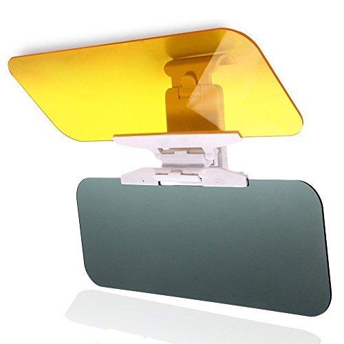 Auto Blendschutz, Sonnenblende Verlängerung, Auto Tag und Nacht Anti-Glare Visier, 2 in 1 Premium Sonnenschirm und Nachtsicht Anti-Dazzle Windschutzscheibe Treibende Brille mit Einstelltaste