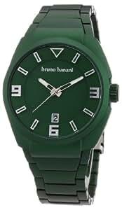 Bruno Banani - BR21120 - Montre Homme - Quartz Analogique - Bracelet Aluminium Vert