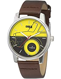 Gully by Timex Travel Analog Yellow Dial Men's Watch-TW000V814