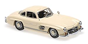Minichamps 940039002 Mercedes-Benz 300 - Kit de Modelo de plástico para Mercedes-Benz 300, Color Crema, Escala 1:43