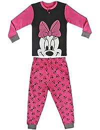 Minnie Mouse - pijama manga larga 2 piezas interlock 100% algodón