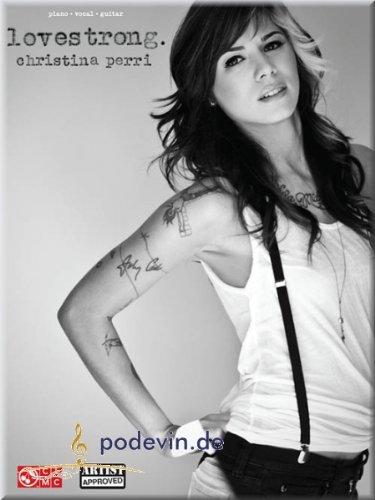 Christina Perri-lovestrong.-Song Book pianoforte, canto e chitarra, per tastiera [lingua inglese]