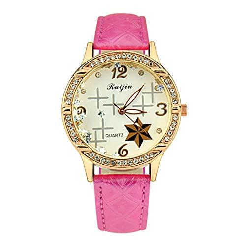 IG Invictus Frauen Luxusedelstahlarmband Uhr analoge Quarz Armbanduhr RUIJIU ZYBFLS 2 Damenuhr