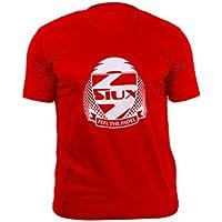 Siux Camiseta Entrenamiento NIÑOS ROJA Logo Blanco