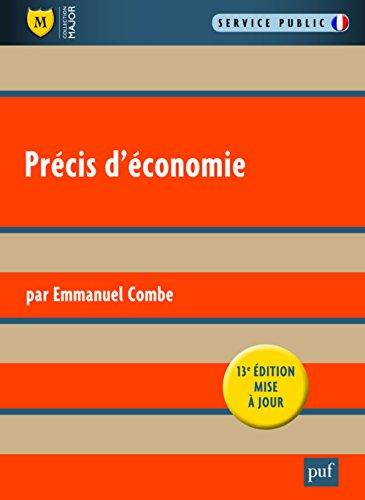 Précis d'économie PDF Books