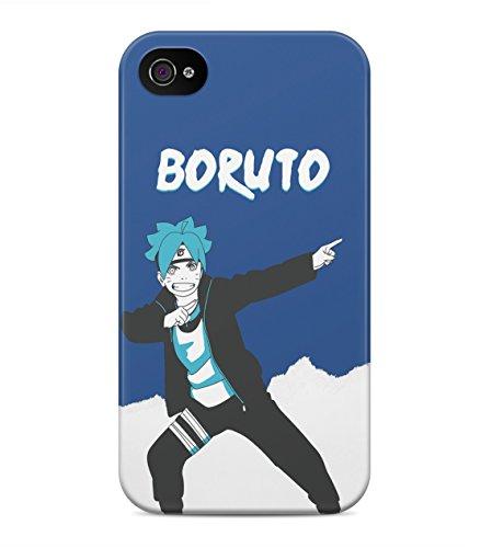Boruto Naruto The Movie NarutoS Son Boruto Hard Plastic Snap On Back Case Cover For iPhone 4 / 4s Custodia