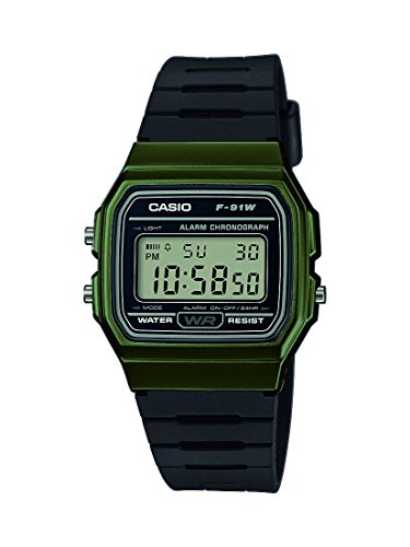 Casio Collection Unisex-Armbanduhr F-91WM-3AEF