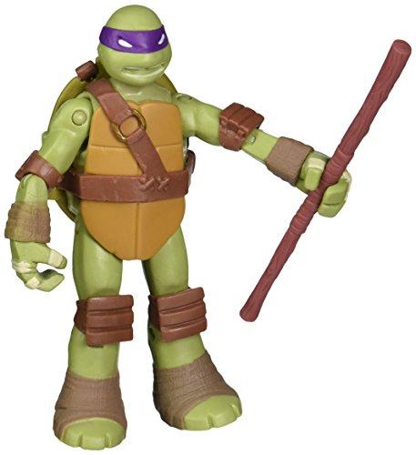 Turtles Figur Donatello mit Schildpanzer zum Öffnen - Waffenversteck