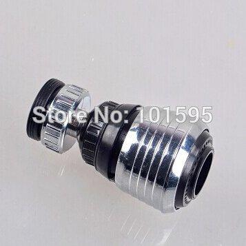 Acustyle (TM) Nuovo pratico durevole risparmio di acqua del rubinetto girevole 360gradi aeratore diffusore filtro rubinetto adattatore facile da installare