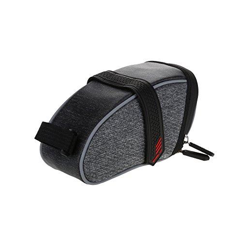 Dilwe Tasche Sitz-Fahrrad Tasche leicht Fahrrad Große Speicherkapazität Sattel Fahrrad-Zubehör