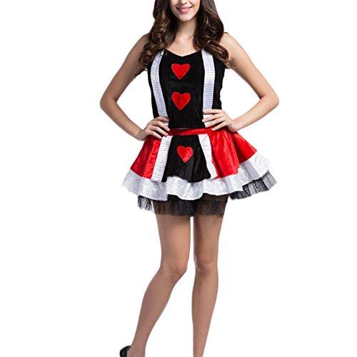 Fxwj Miss Santa Womens Fancy Ladies Budget Mrs Poker Casino Game Uniforms Temptation Styles Snowman