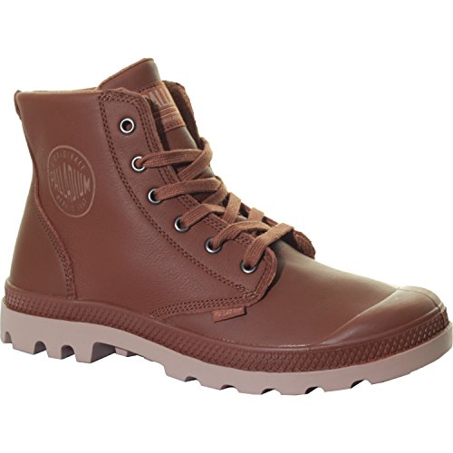 Palladium Pampa Hi Leather, Herren Sneakers Sunrise