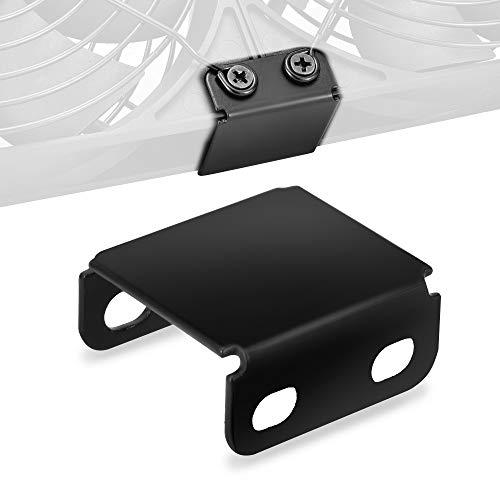 2 Packungen Lüfter 120mm mit USB-Lüfterclips USB Ventilator Anti-Vibration für 120/140mm Fans mit Befestigungsschrauben ()