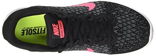 Nike Wmns Air Max Sequent 2, Scarpe da Ginnastica Donna Nero (Black/Racer Pink/Anthracite/Cool Grey/Wolf Grey/White)