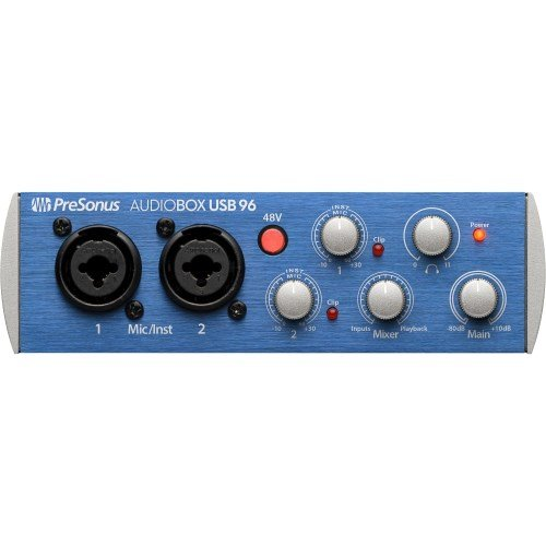 Presonus AudioBox USB 96 Test