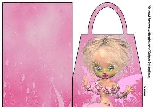 Lauren Fairy borsetta di by Katy Kinsey