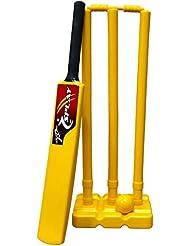 Splay–Pelota de críquet de Cricket–tamaño 6–Amarillo