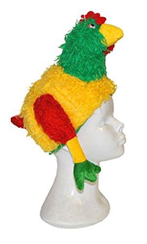 Halloweenia - Clown Kostüm Zubehör- Huhn Mütze- Karnevalskostüm, Kinder Kopfbedeckung, (Kostüm Tanz Huhn)