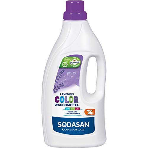 Sodasan Color-Flüssigwaschmittel Lavendel, 1500 ml