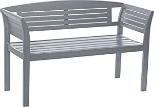 City Green CGNY2 New York Banc Fixe Acacia Anthracite 129 x 52 x 81 cm