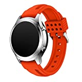 Watch Band Wristbands Smartwatch Samsung Gear S3 klassisch Silikon Riemen Sport Gurt Grenzbereiche Weiches Silikon
