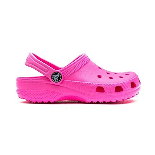 Crocs Classic Kids 1006, Sabot Unisex – Bambini l0 neon magenta
