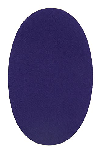 Haberdashery Online 6 rodilleras color Morado termoadhesivas de plancha. Coderas para proteger tu ropa y reparación de pantalones, chaquetas, jerseys, camisas. 16 x 10 cm. RP29