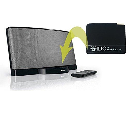 IDC© - i3 - Premium-Bluetooth-Empfänger - Version 3.0 Bluetooth - integriertes Mikrofon - Hände frei - konvertieren Sie Ihre docking Station Bluetooth - 2 in 1 Funktionen (Jbl-premium-auto-lautsprecher)