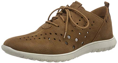 Josef Seibel Malena 09, Zapatos de Cordones Derby para Mujer, Castagne 350, 39 EU