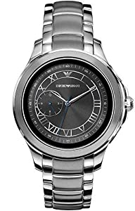 Emporio Armani Mens Smartwatch with Stainless Steel Strap ART5010