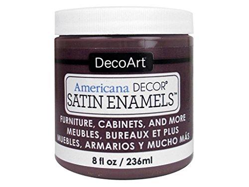 Deco Art decadsa-36.15Decor Satin Enamels aubergin Americana Decor Satin Enamels 8oz aubergin