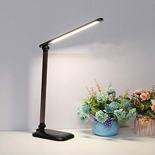 Lámpara De Escritorio LED Lámpara De Escritorio De Carga De Color De Atenuación Plegable Creativa