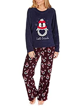 Donna Forever Dreaming in pile natale set pigiama da notte pigiama Loungewear Natale regalo