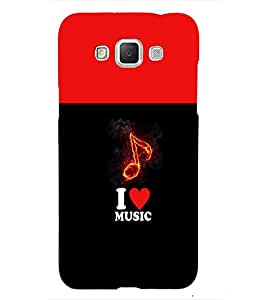 Fuson Premium Back Case Cover I love Music With Multi Background Degined For Samsung Galaxy Grand 3 G720::Samsung Galaxy Grand Max G720