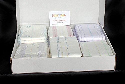 Windelproben Musterpaket M Nacht - 20 Windeln für Erwachsene