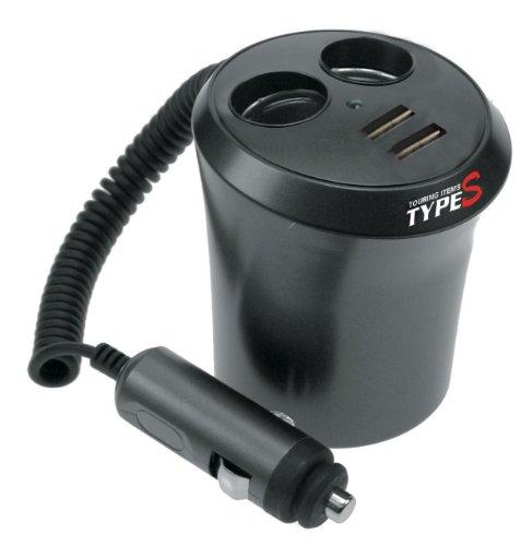 Type S Verteiler 4-fach (2 x 12V + 2 x USB)