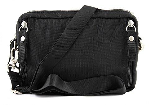 George Gina & Lucy Love Letters Mini Bag Borsa a tracolla Marsupio 20 cm Nero