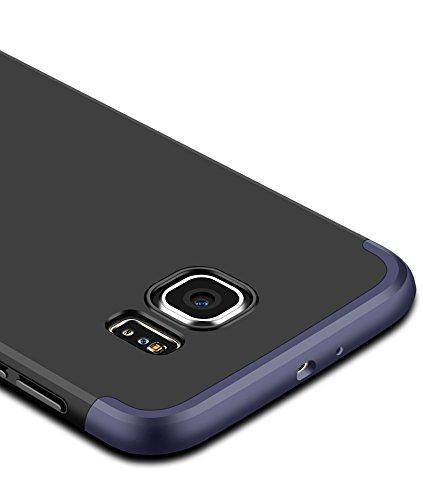iPhone 6 / iphone 6S 4.7 Cover, KSHOP Conchiglia per Samsung iPhone 6 / iphone 6S 4.7 Custodia TPU Silicone Bling Bling Glitter Brillantini Brillante Oro Rosa(Rose Gold)Case Caso Guscio Shell Flessi rosso