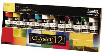 Liquitex : Professional : Heavy Body : 59ml : Classic Set of 12