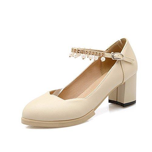 Schuhe cremefarben pumps