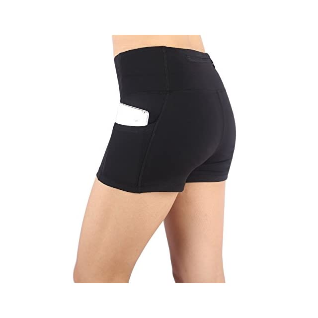 Munvot Femme Short sans Couture Shorty Fille Elastique Confortable  Multiusage ... 24d0d88c484