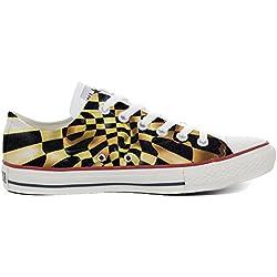 Converse All Star zapatos personalizados (Producto Artesano) Slim Chess fantasy - TG46