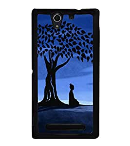 printtech Lord God Buddha Back Case Cover for Sony Xperia C3 Dual D2502 , Sony Xperia C3 D2533