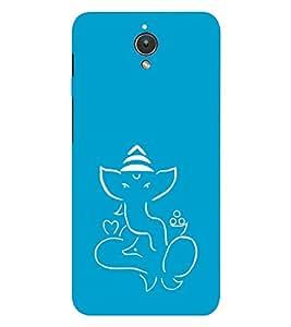 EPICCASE Outline Bappa Mobile Back Case Cover For Asus ZenFone C (Designer Case)
