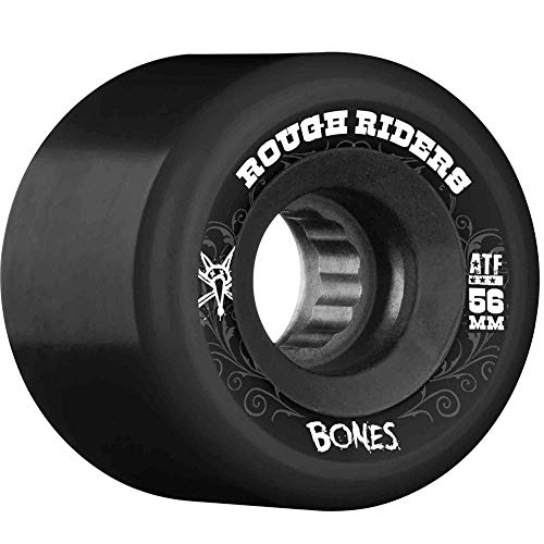 Bones Wheels ATF Rough Riders 80 A Ruedas ATF Rough Riders 80A, Negro, 56 mm