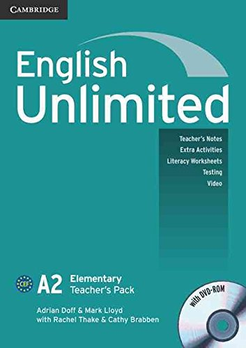 [(English Unlimited Elementary Teacher's Pack (Teacher's Book with DVD-ROM): A2 elementary)] [By (author) Adrian Doff ] published on (August, 2010)