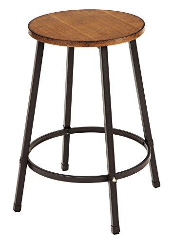 Acme Möbel ACME 72287Dora Zähler Höhe Stuhl, Eiche–Set von 4, One size - 4 Zähler Höhe Stühle