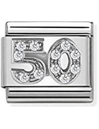 Nomination Women Stainless Steel Bead Charm - 330311/08
