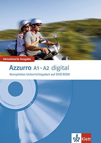 Azzurro A1/A2 digital: Aktualisierte Ausgabe. DVD-ROM